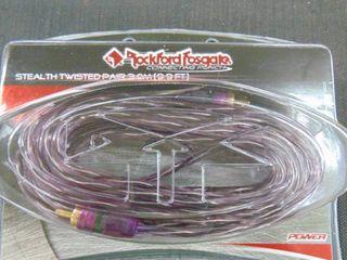 Rockford Fosgate RCA pair 3m