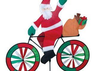 Santa Bicycle Spinner