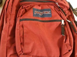 Jansport Viking Red Big Student Backpack