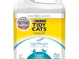 Tidy Cats lightweight Instant Action Cat litter 8 5 lbs  Antler