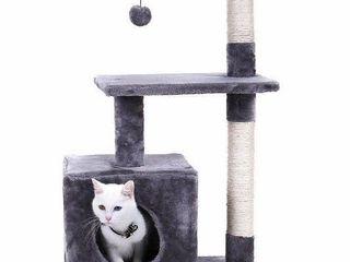 Pawz Road Cat Tre 34  Deluxe Kitten Activity Tower