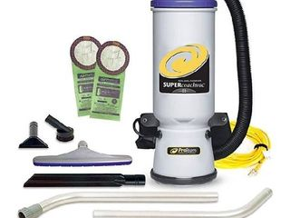 Pro Team The Vaccum Comoany Hepa level Filtration Super Coach Vac
