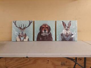 Three Animal Portraits