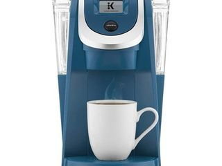 Keurig K250 Single Serve  K Cup Pod Coffee Maker with Strength Control  Peacock Blue  New Open Box
