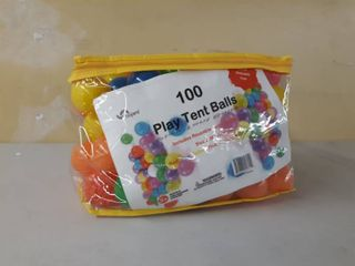 Oojami Pack Of 100 Phthalate Free Bpa Free Crush Proof Plastic Balls  Pit Balls