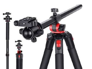 Neewer Camera Tripod with 360 Degree Rotatable Center Column and Ball Head QR Plate