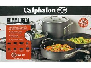 Calphalon Commercial Nonstick 13 piece Cookware Set