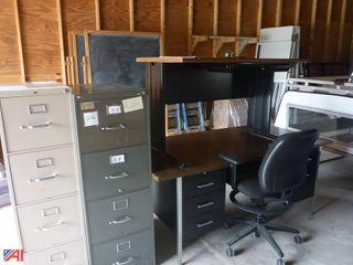 wLot_1613 office desk chair cabinet.JPG