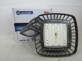 Lot of 2x Atlas PGM80LED Lighting Fixture LED Parking Garage 120-277VAC 80 Watts