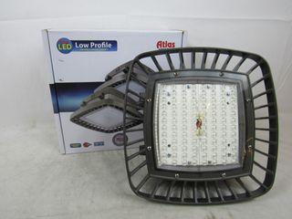 Lot of 2x Atlas PGM80LED Lighting Fixture LED Parking Garage 120-277VAC 80 Watts