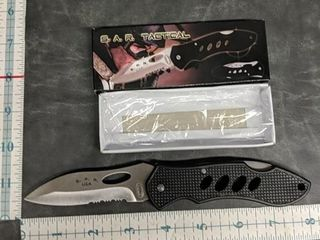 SAR tactical brand new pocket knife frost cutlery