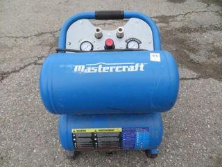 MASTERCRAFT 5 GAL AIR COMPRESSOR
