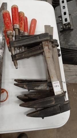 (6) WOODWORK SIDE CLAMPS