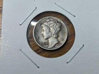 1935 s Mercury dime
