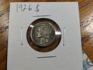 1926 s Mercury dime
