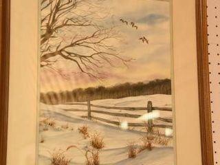 Lot #2873 - Barbara L. Chandler watercolor