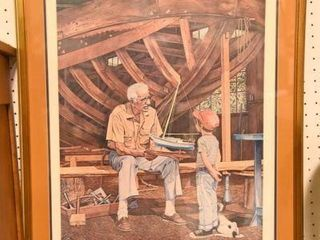Lot #2875 - George Wright ?Master Boat Builder