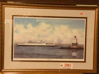 Lot #2883 - Cape May-Lewes Ferry print by Phil