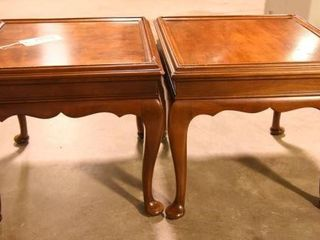 Lot #2893 - Pair Statton Old Towne cherry side
