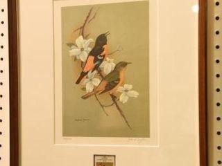 Lot #2863 - Framed John W. Taylor signed &