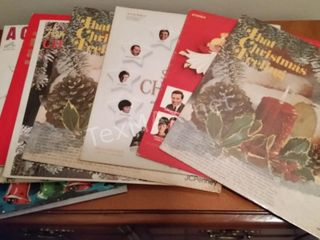 (10) Vintage Christmas Albums