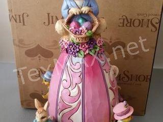 Jim Shores Egg-cited for Easter Figurine