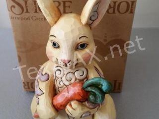 Jim Shores Pont Size Bunny Figurine