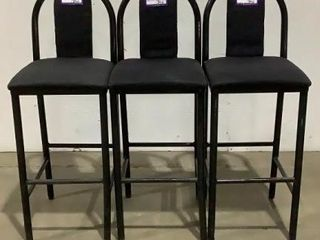 (3) Eagle Products Co. Bar Chairs