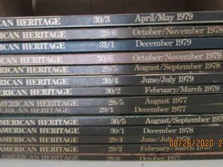 14 1977 1979 American Heritage volumes