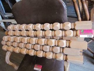 12 28  wood spindles