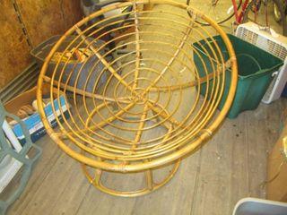 papasan chair frame