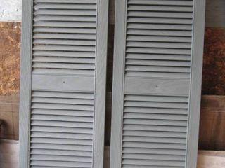 shutters need paint 14 5  x 47 l