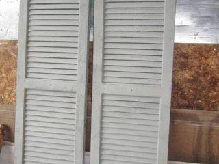 shutters need paint 14  x 51 l