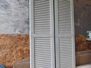 shutters need paint 14 W x 66 l