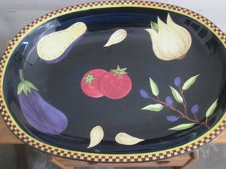 large Serving dish 15  W x 20  l