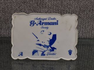 Vintage Giuseppe Armani Authorized Dealer Store logo   Used for Store Display   5