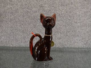Vintage McMaster Craft Dundas Canada Souvenir Cat   Magnetic Hill N B    6 1 2  Tall