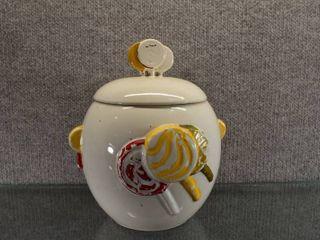 Vintage McCoy lollipop Cookie Jar   Bottom Marked McCoy   10  Tall