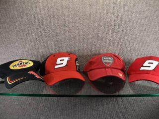 lot of 5 Nascar Ball Caps  9    1