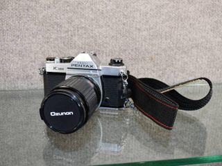 Pentax Asahi K1000 Auto Zoom Camera   35 75mm  1 35 4 8   Include lens Cap
