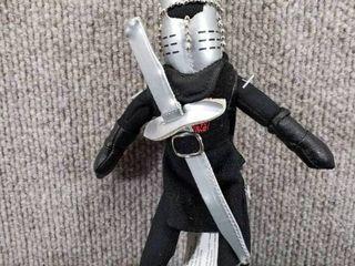 Monty Python Black Knight Small Doll   7 1 2  Tall