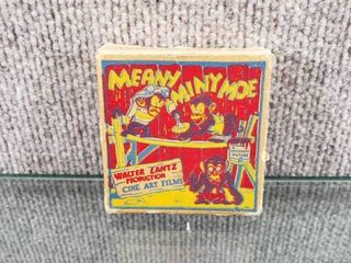 Vintage Meany Miny Moe Film   Walter lantz Production Cine Art Films