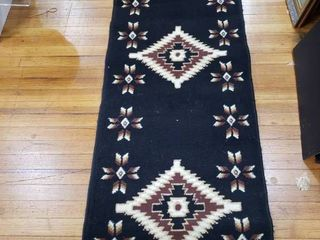 Mahal Western Area Rug   100  BCF Quality   24  x 82