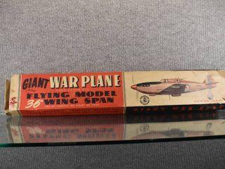 Vintage Giant Warplane True Scale Kit   Boulton Paul  Defiant    36