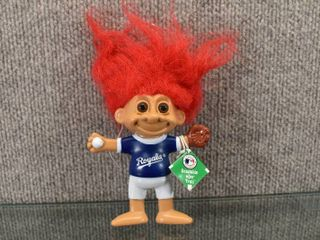 KC Royals Bendable Troll Doll   6