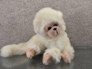 Vintage TY White Mischief Monkey Stuffed Animal   7