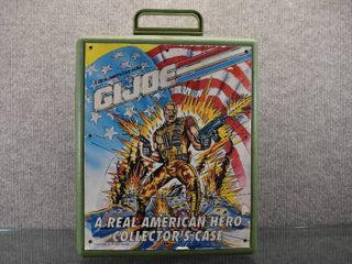 Official Hasbro G I  Joe Collector s Case   Made in 1992   11  x 14