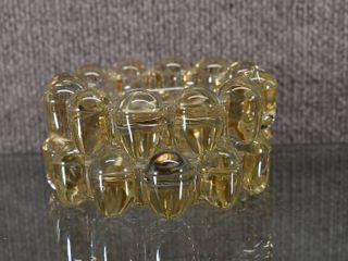 Set of 2 Glass Beaded Ashtrays   5