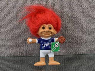 KC Royals Bendable Troll   Russ Troll Dolls   5