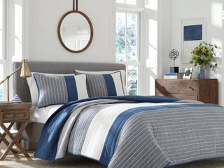 Nautica Swale Quilt  Queen Full